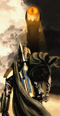 One does not simply walk into Mordor… unless that one be Boba Fett! The Artist has requested Critique on this Artwork. Please sign up or login to post a critique.
