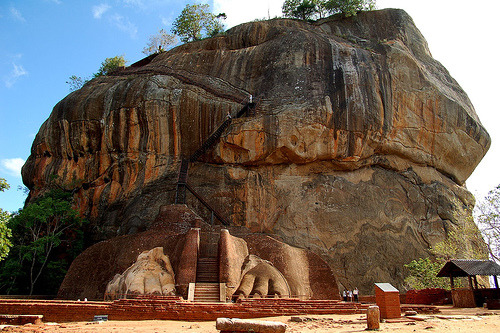 Sigiriya,Lion Mountain - Sri Lanka
