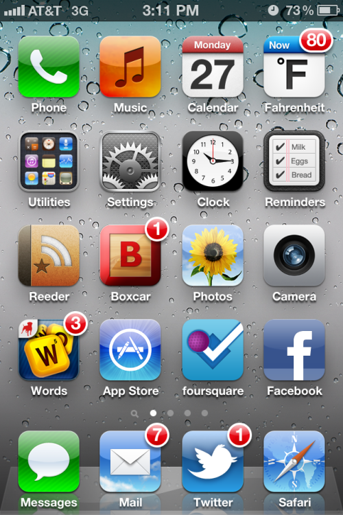 iOS 5, beta 2 - @willettjf