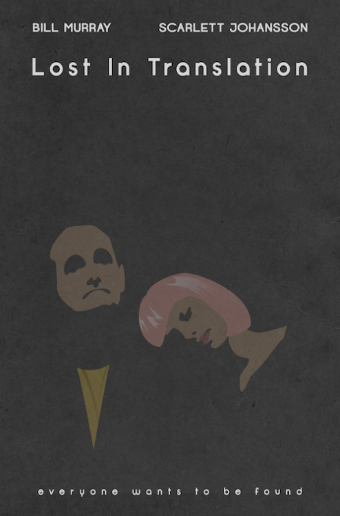 minimalmovieposters:  Lost in Translation by JD Dean