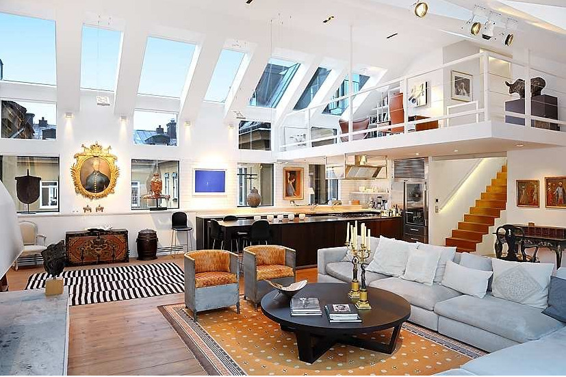 THE perfect loft! (via digsdigs) 1 of 2