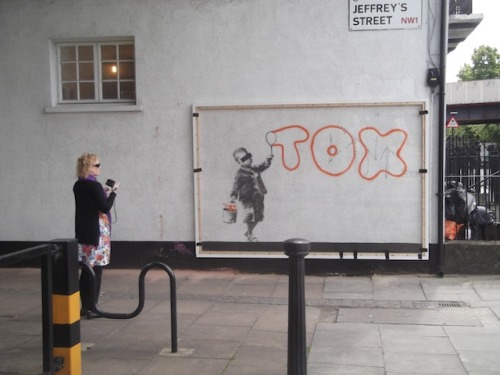 Banksy Camden Town Work Covered Up (via Banksy Camden Town Work Covered Up | Londonist)