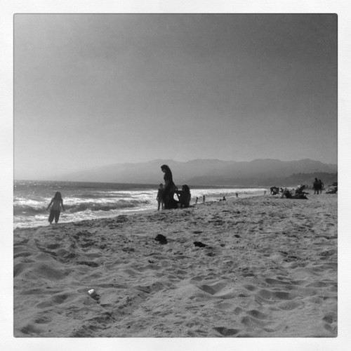 My office today. (Taken with Instagram at Santa Monica, Pacific Ocean)
