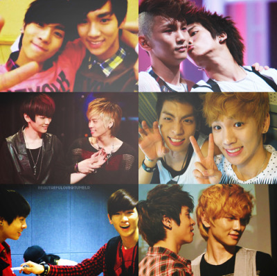 beautaefulove:  Top Six Pictures; [ JongKey ]