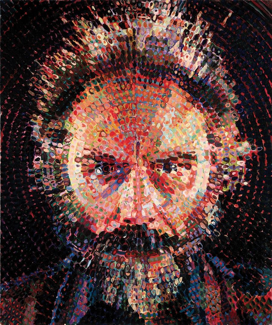 Chuck Close (1940) Lucas II 1987