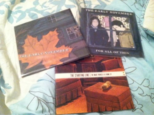 Recent vinyl purchases, courtesy of Enjoy the Ride records