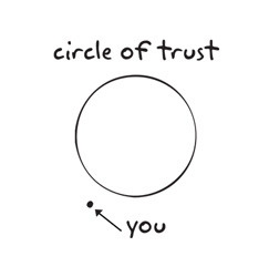 ricbonco:  Circle of trust.