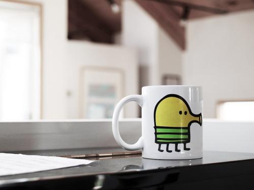 Doodle Jump Mug on Flickr.