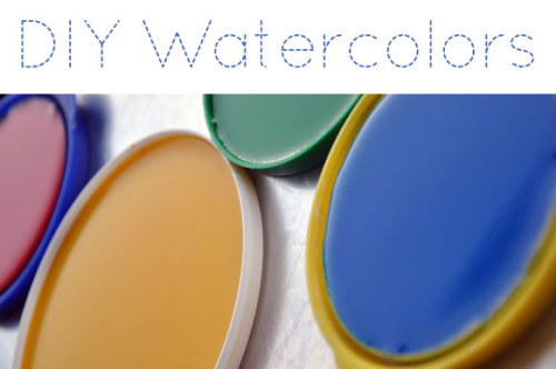 coffeeshopblues:  Make your own water colors tutorial