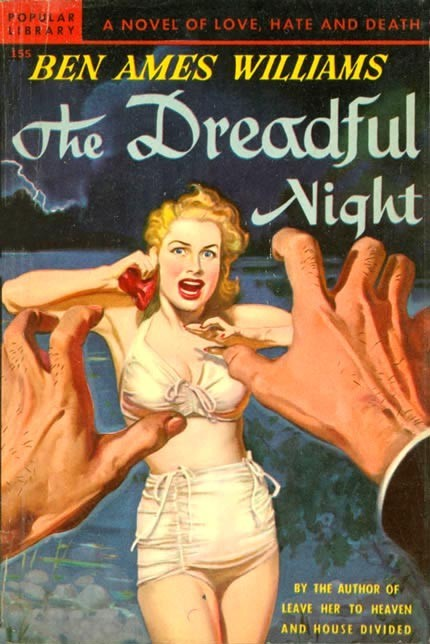 (via Pulp International - Seven Rudolph Belarski pulp covers with hands as central elements)