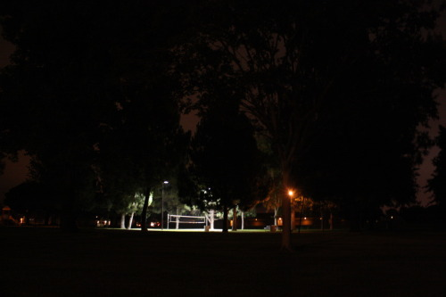 … the volleyball court that Claudia took me to, because she thought it was so magnificent.