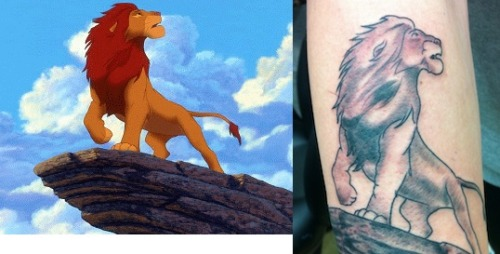 my lion king tattoo