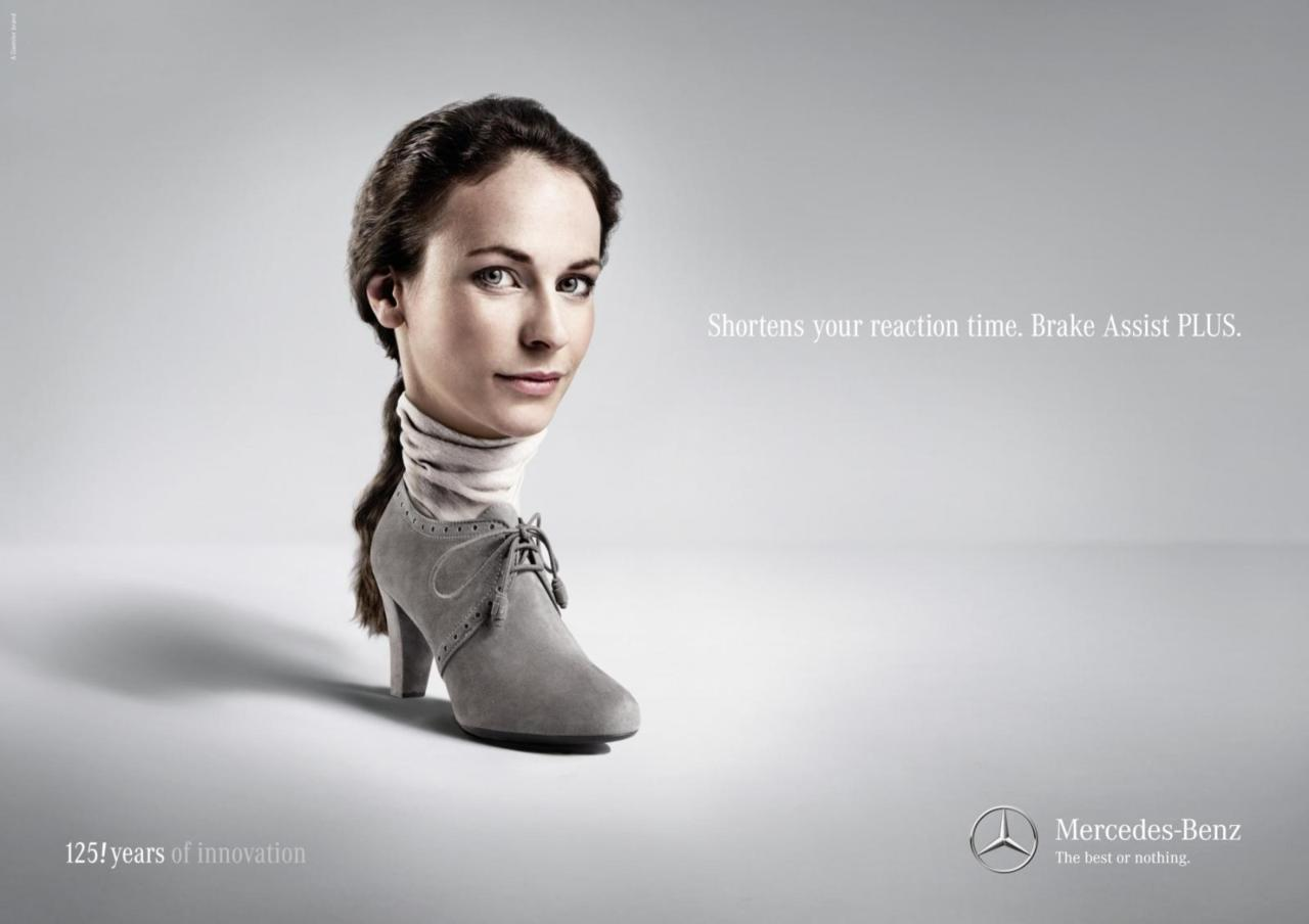 Shorten your reaction time. Break Assist PLUS. Advertising Agency: Jung Von Matt / Limmat, SwitzerlandExecutive Creative Director: Alexander JaggyCreative Directors: Fernando Perez, Livio DaineseAccount Manager: Urte KrauseAccount Supervisor: Thomas HinderlingArt Buyers: Ilonka Galliard, Deborah HerzigPhotographer: Hannes Kutzler