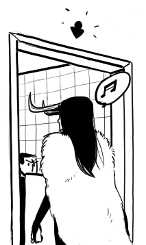 tacitoz:  LadyLoki hath no respect for your foolish mortal restroom customs. (das is für dich, Pandir. Aaaah es ist so winzig XD; )