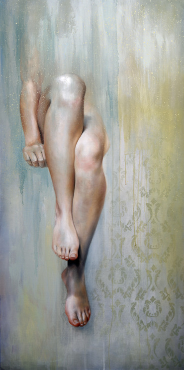 emmauber:  Shy Oil on canvas