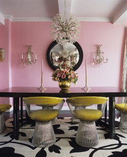 I dunno, I still am LOVING pink walls. How about you?