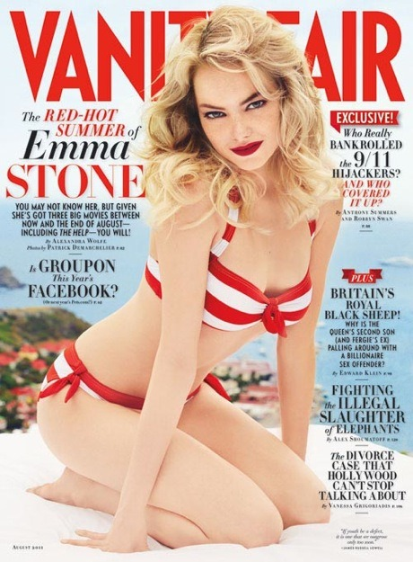 vanityfair:  Emma Stone, ladies and gentlemen, our August cover girl.