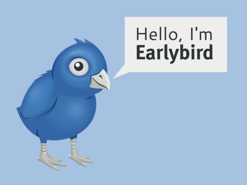 Hello, I'm Earlybird!