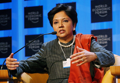 emmulate:  Indra Nooyi is a BOSS. So inspiring.