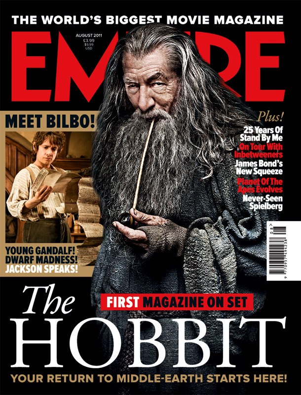 Gandalf será la portada de Empire Magazine en agosto.  The Hobbit: Part 1