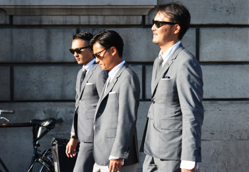 Men in Grey edwinhu:  downeastandout:  asian representation  A-Team