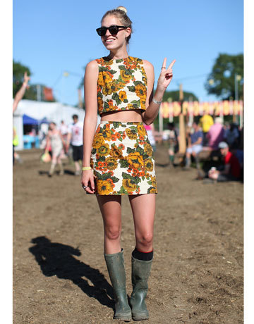 very chic festival-goes