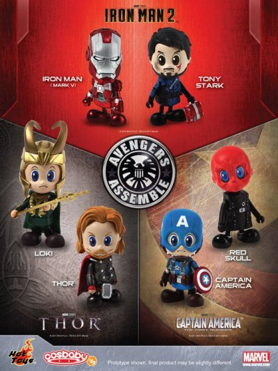 OMG totally wants!  I love these I can't wait till the Avengers Cosbabies come out.