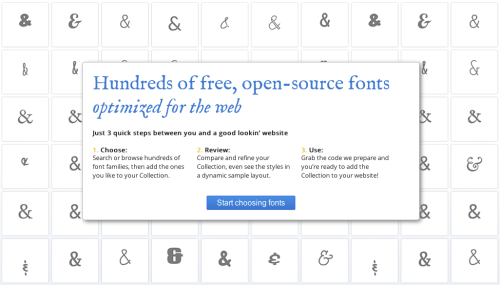 Google Web Fonts V2 New, improved, bigger, better, etc.