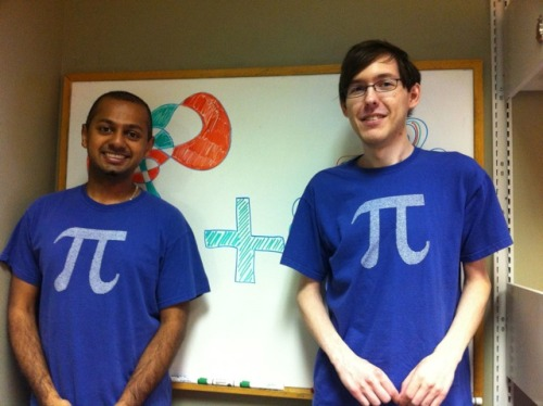 Happy Tau Day, everybody! Here are Wolfram employees celebrating how Tau Day is twice as good as Pi Day!