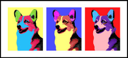 I made the mistake of letting Mr. Warhol watch my corgi last weekend.