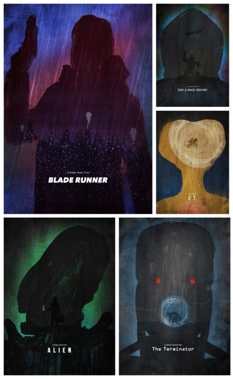 minimalmovieposters:  Classic Sci-Fi Collection by Dean Walton