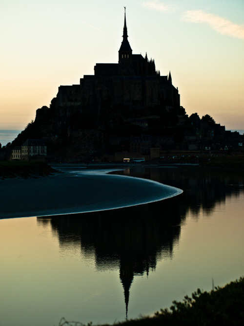 Mont Saint-Michel— Normandy, France