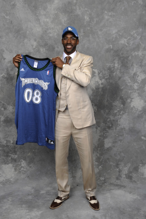 O.J. Mayo, Minnesota Timberwolves (2008, 3rd) *Traded with Greg Buckner, Marko Jaric and Antoine Walker to the Memphis Grizzlies for Kevin Love, Brian Cardinal, Jason Collins, and Mike Miller.