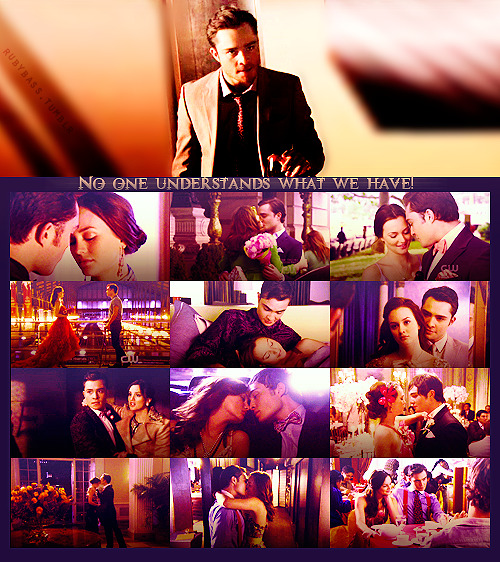 savechuckandblair:   No one understands what we have!  (originally from rubybass)