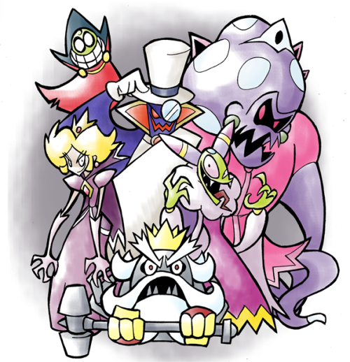 "30 Days 30 Drawings #26""Mario RPG Villains"""