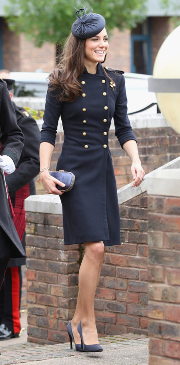 fallonelizabeth:  The Duchess of Cambridge is so chic.   confused as to whether this is a jacket or a dress. either way, i'd wear it, if i was that tall and skinny.