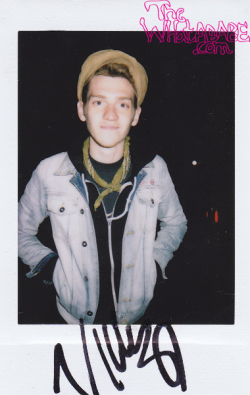 Nick Santino. Taken with a Polaroid 300.