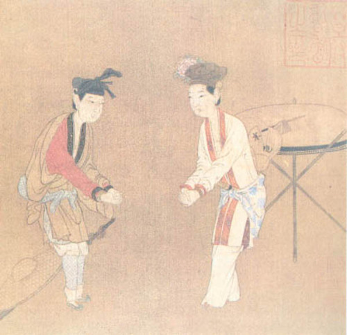 Poetic Drama (24.3*24 cm, Song Dynasty)