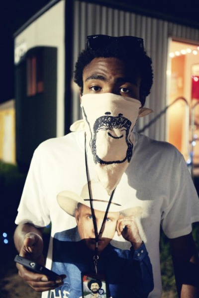 I am obsessed with Donald Glover/Childish Gambino/Troy from Community.