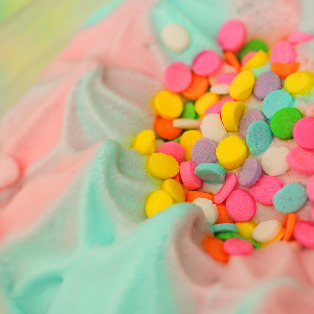 cotton candy dream cream by stOOpidgErL on Flickr.