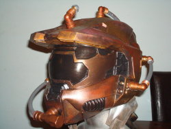 Master Chief Helmet from Halo (For the record I don't like Halo but I thought it looked kind of cool.)