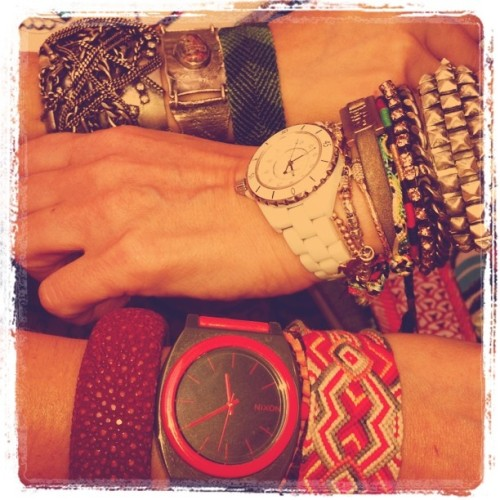 #armparty with Meryl Poster - pres of Weinstein Co (she's the bomb.com) (Taken with instagram)