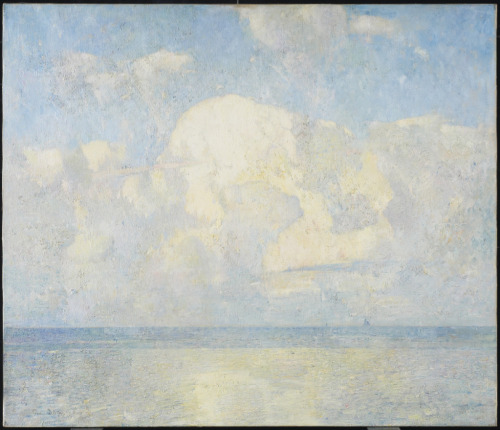 The Shoals, c. 1920 Emil Carlsen (American) Painting, oil on canvas, 46 x 46 x 6.2 cm Bequest of Gerald R. Larkin, 1961