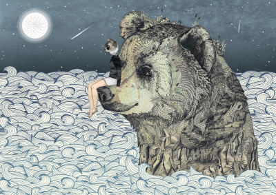 urhajos:  'Bear Rock' by Sandra Dieckmann
