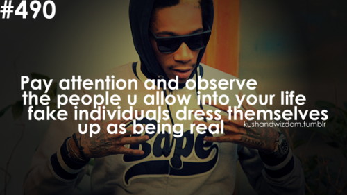 Images Wiz Khalifa Quotes Fake People Being Real Wallpaper 500x281