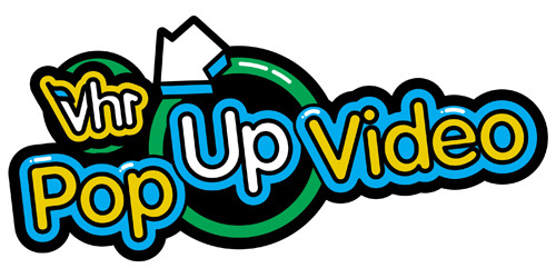 "popculturebrain:  vh1:  The new Pop Up Video logo! Coming soon to a VH1 near you.   Let's all welcome Video Hits One to Tumblr and this logo they brought with them.  Ooh! I'm excited.  I loved watching Pop Up video when I was ""younger.""  my mom will be happy to hear about this"