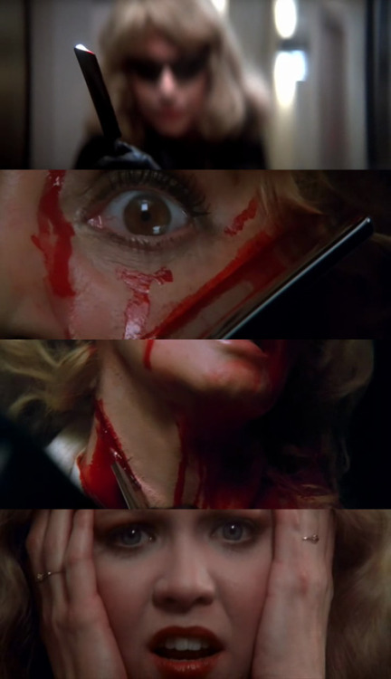moviesinframes:  Dressed to Kill, 1980 (dir. Brian De Palma) By FlintHolloway