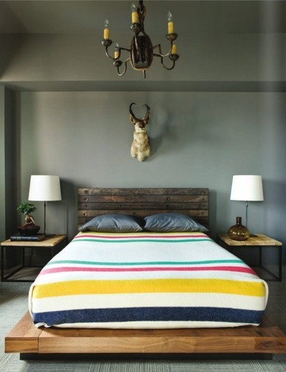 (via Traditional Prints in Modern Rooms | Apartment Therapy San Francisco)