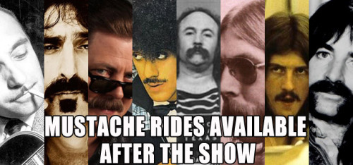 The 9 Best Mustaches in Rock History The All-Star Mustache Band finally comes together.