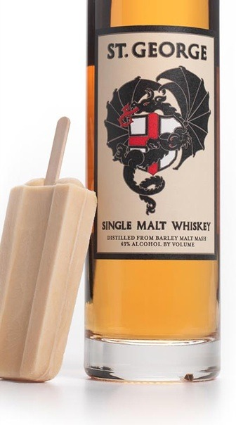 (via St. George Single Malt Whiskey Gelato Bars by Naia) These would be delicious!